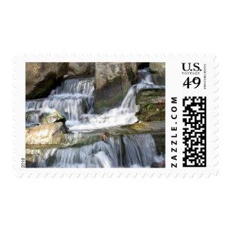 Waterfall  - Stamp
