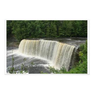 waterfall stationary stationery