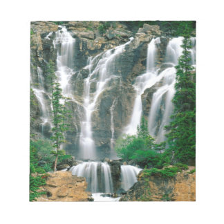 Waterfall Tangle Jasper Park Canada Memo Pad