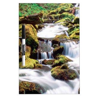Waterfall Three Sisters Wilderness Willamette Dry-Erase Board
