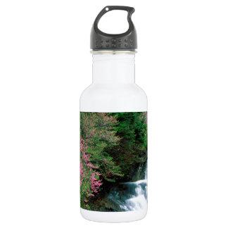 Waterfall Tochigi Prefecture Nikko Japan Water Bottle