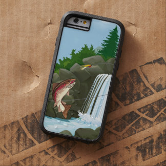 Waterfall Trout Fly Fishing Tough Xtreme iPhone 6 Case
