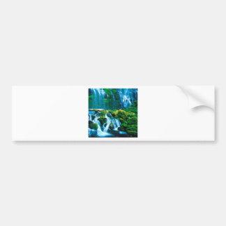 Waterfall Twins Proxy Willamette Bumper Sticker