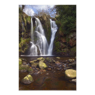 Waterfall - Valley of Desolation Yorkshire Dales Photo
