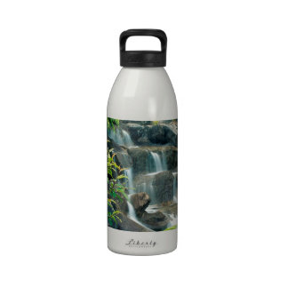 Waterfall Vancouver British Columbia Drinking Bottle