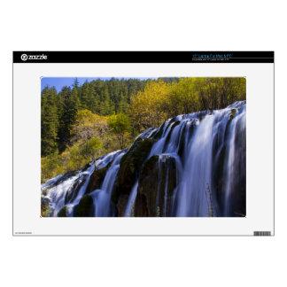 Waterfall view laptop skin