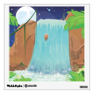 Waterfall Wall Decal