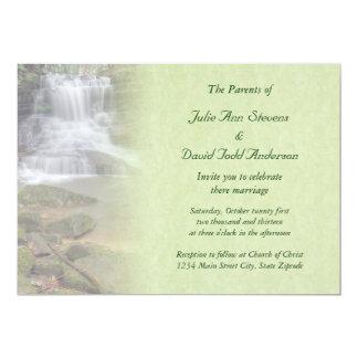 Waterfall Wedding Invitation