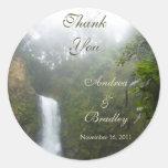 Waterfall Wedding Stickers