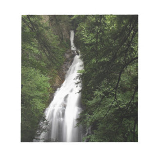 Waterfall White Flowing Torrent Memo Pad