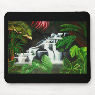 Waterfall Wilderness Mouse Pad