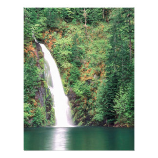 Waterfall Willamette Customized Letterhead