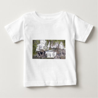 Waterfall with Branches Baby T-Shirt
