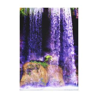 Waterfall Wonder Canvas Print