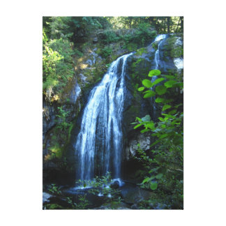Waterfall Wrapped Canvas Canvas Print