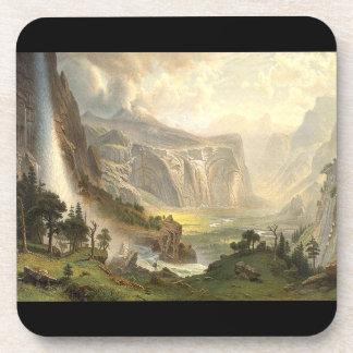 Waterfall Yosemite Panorama Wilderness Coaster