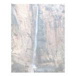 Waterfall, Zion National Park, Utah, U.S.A. Letterhead