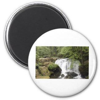 WaterfallA052309 2 Inch Round Magnet