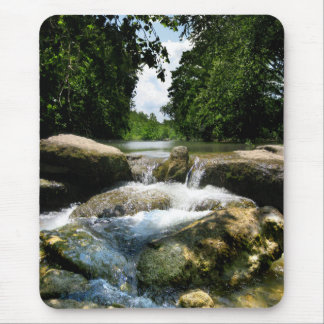 Waterfalls 5 on Barton Creek in Austin Texas Mouse Pad