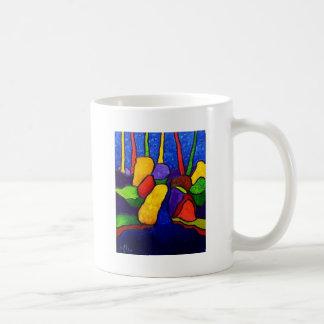 Waterfalls Abstracted A 3 Coffee Mug