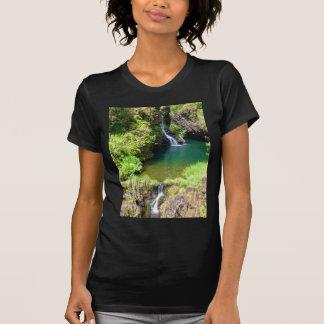 Waterfalls along the Road to Hana, Maui, Hawaii T-Shirt