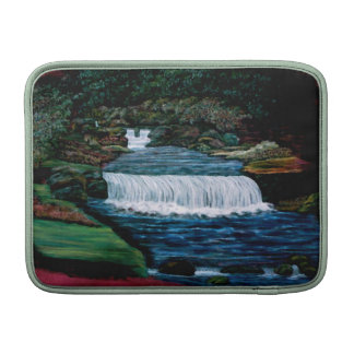 Waterfalls and gardens Mac book cover Sleeve For MacBook Air