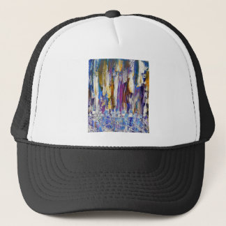 Waterfalls and Ice Cubes Trucker Hat