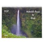 Waterfalls Around the World, 2011 Calendar