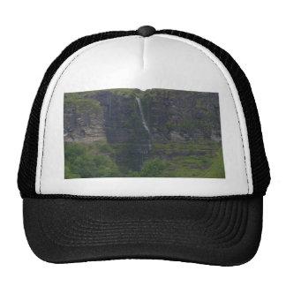 Waterfalls At Glecar Lough Mesh Hat