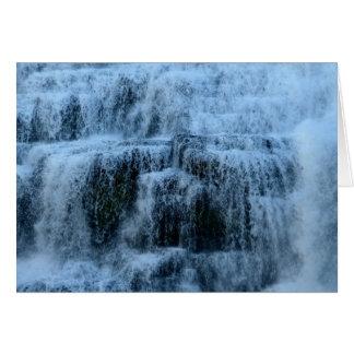 Waterfalls at Ithaca Falls New York Card