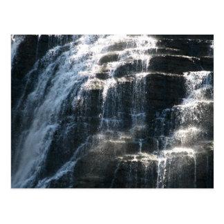 Waterfalls at Ithaca Falls New York Postcard