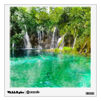 Waterfalls at Plitvice National Park in Croatia Wall Decal