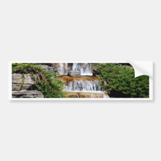waterfalls bumper sticker