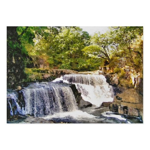 WATERFALLS BUSINESS CARDS