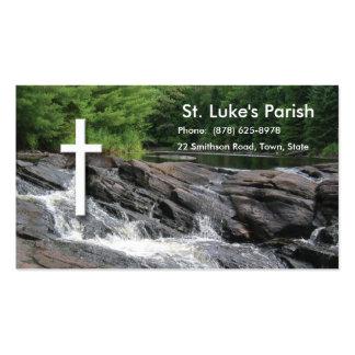 Waterfalls Christian Business Card