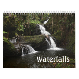 Waterfalls Custom Wall Calendar Photos Pictures
