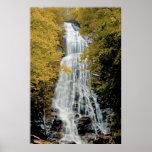 Waterfalls Great Smokey Mountain NP Poster