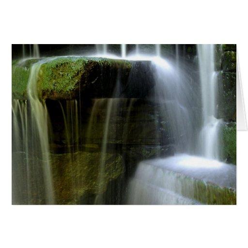 Waterfalls II card