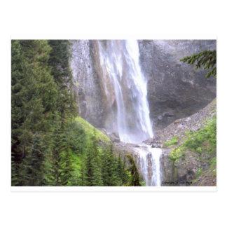 Waterfalls in Mt Rainier National Park Paradise Postcards