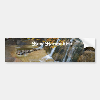 Waterfalls in New Hampshire Bumper Sticker
