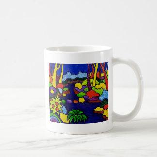 Waterfalls in Park Coffee Mug