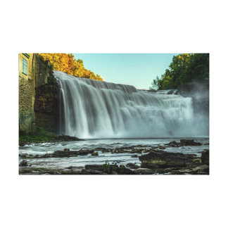 Waterfalls in Rochester, NY Canvas Print