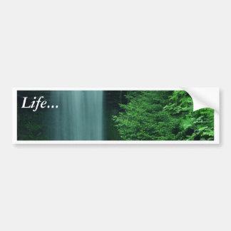 Waterfalls In Zion Bumper Sticker