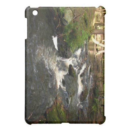 waterfalls iPad mini cover