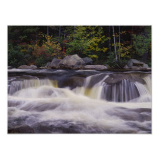 Waterfalls, Kancamagus Highway, White Poster