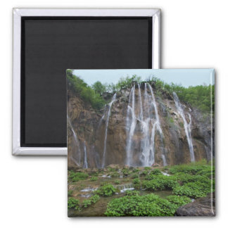 Waterfalls 2 Inch Square Magnet