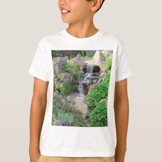 Waterfalls Nature Scene Forest Photo child T-Shirt