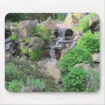 Waterfalls Nature Scene Photo Mouse Pad