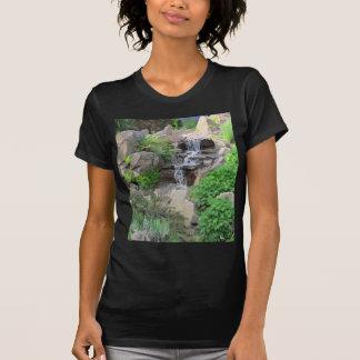 Waterfalls Nature Scene Photo T-Shirt
