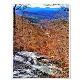 Waterfalls Near Ellijay, Georgia Photo Print